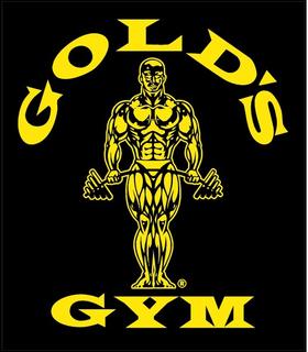 Gold's Gym Decal / Sticker 02