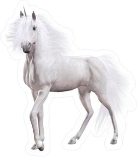 Unicorn Decal / Sticker 07