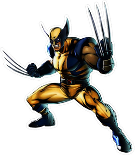 X-men Wolverine Decal / Sticker 06