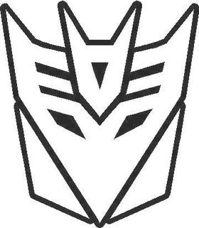 Transformers Decepticon 07 Decal / Sticker