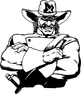 Generals Mascot Decal / Sticker 0