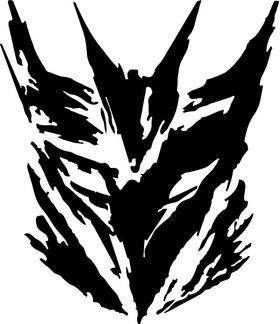 Decepticon Decal / Sticker 34