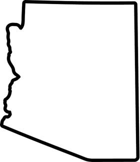 Arizona Decal / Sticker 02