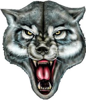 Wolf Decal / Sticker 07