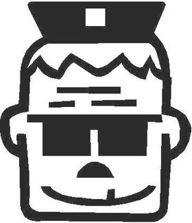 Officer Barbrady Decal / Sticker