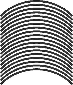 Rim Stripe for 17 inch rim THICK STYLE