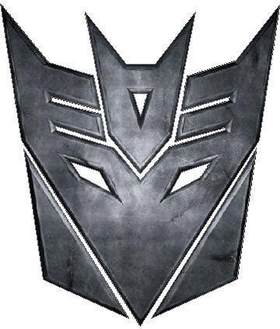 Transformers Decepticon 08 Decal / Sticker