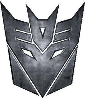 Transformers Decepticon 08 Decal / Sticker