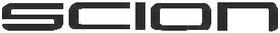 Scion Lettering Decal / Sticker 03