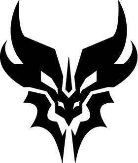 Decepticon Predaking Decal / Sticker 02