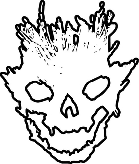 Halo Emile Skull Helmet Decal / Sticker 12
