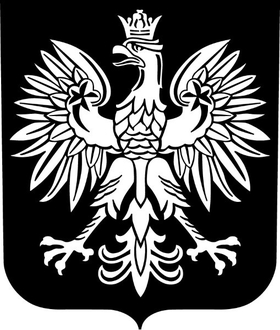 Polish Coat of Arms Decal / Sticker 02