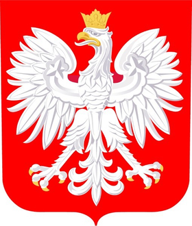 Polish Coat of Arms Decal / Sticker 03