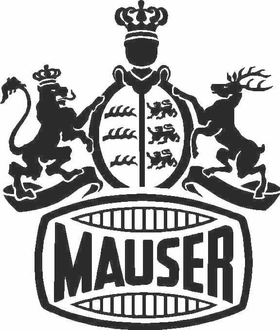 Mauser Decal / Sticker 01
