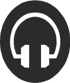 DJ Dee Jay Decal / Sticker 019