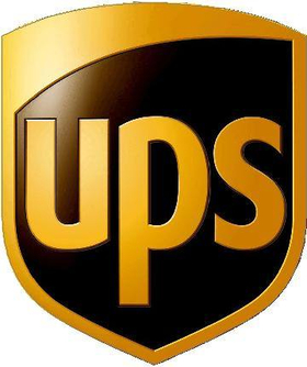 UPS Decal / Sticker 02