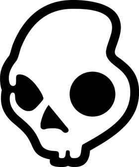 SkullCandy Decal / Sticker 04