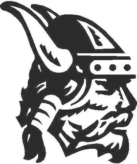 Viking Decal / Sticker 01
