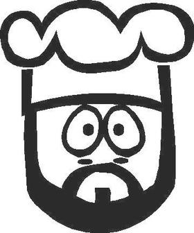 Chef Decal / Sticker 02