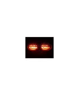 C5 Flaming Tail Light Covers