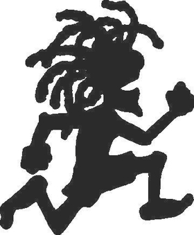Rasta Man Decal / Sticker