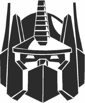 Optimus Prime Decal / Sticker 04