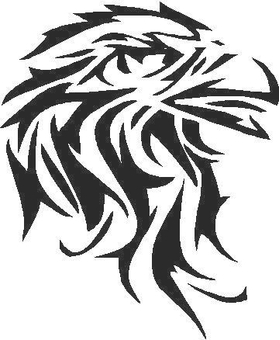 Eagle Tribal Decal / Sticker
