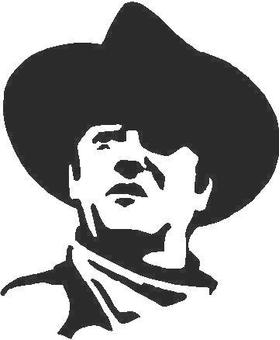 John Wayne Decal / Sticker