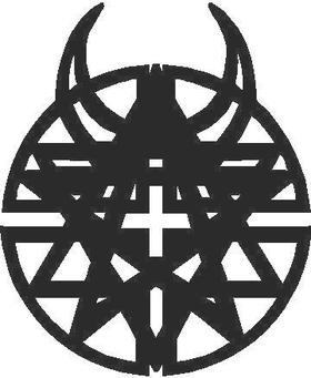Disturbed Logo Decal / Sticker