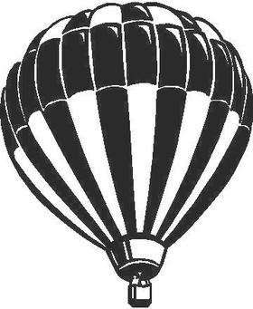 Hot Air Balloon Decal / Sticker