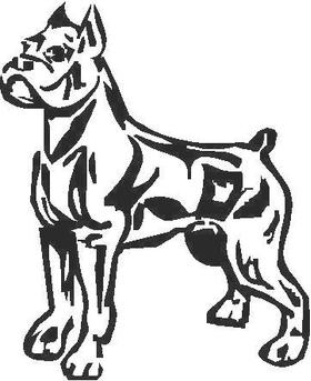 Bulldog Decal / Sticker 11