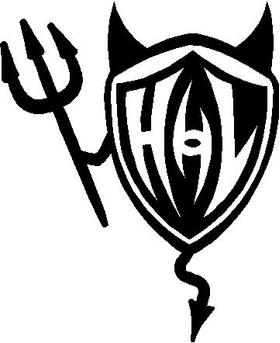 Hyperlite Devil Decal / Sticker