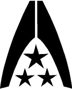 Mass Effect Earth Alliance Decal / Sticker
