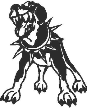 Rottweiler Decal / Sticker 02