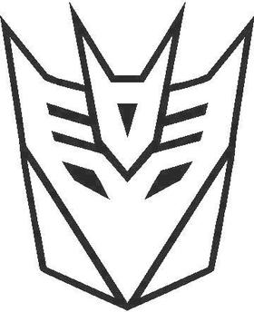 Decepticon Decal / Sticker 12