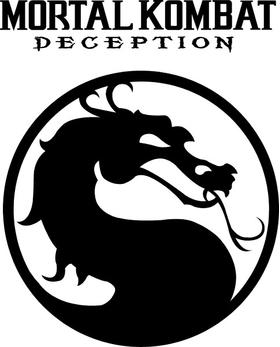 Mortal Kombat Decal / Sticker 02