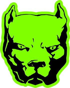 Pitbull Decal / Sticker 12