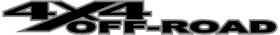 Z RAM 4x4 Off-Road Decal / Sticker 04