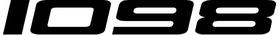 Ducati 1098 Decal / Sticker