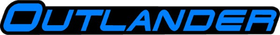 Blue Can-Am Outlander Decal / Sticker 09