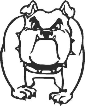 BullDog Decal / Sticker