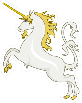 Unicorn Decal / Sticker 14