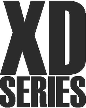 KMC XD Series Decal / Sticker