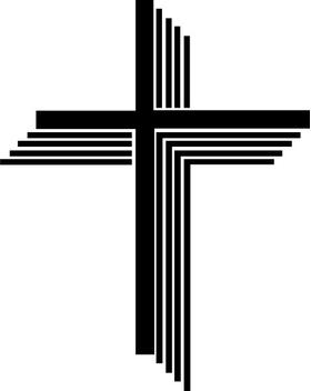 Christian Cross Decal / Sticker 85