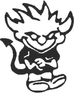 Cal Devil Decal / Sticker