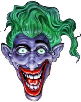 Joker Decal / Sticker 03
