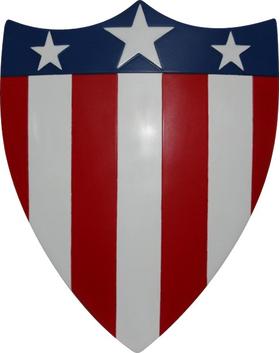 Captain America Original Shield Decal / Sticker 07