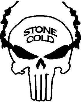 Stone Cold Punisher Decal / Sticker
