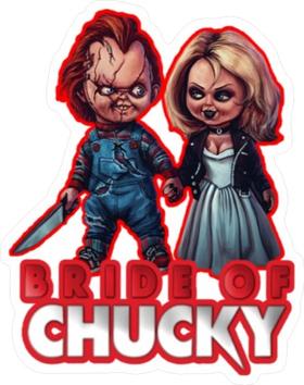 Bride of Chucky Decal / Sticker 01