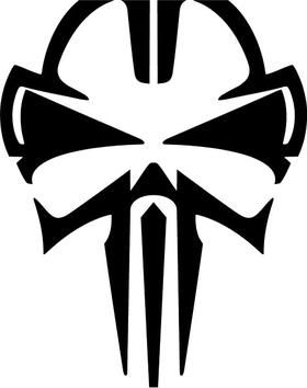 Tribal Punisher Decal / Sticker 140